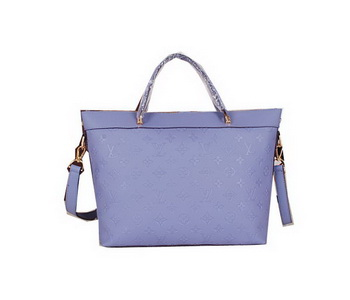 Louis Vuitton Monogram Empreinte Bastille MM Tote Bag M41168 Lavender