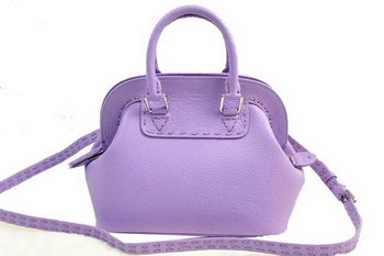 Fendi Adele mini Tote Bag Pebbled Leather 20800 Lavender