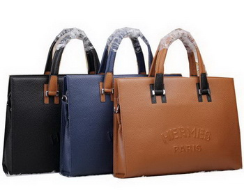 Hermes Briefcase Original Calf Leather HM51271