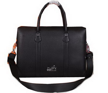 Hermes Briefcase Original Calf Leather HM2285 Black