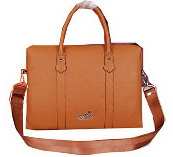 Hermes Briefcase Original Calf Leather HM2285 Wheat