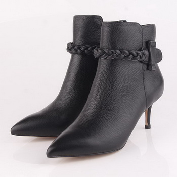 Valentino Ankle Boots 65MM Heels Sheepskin Leather VT189 Black
