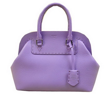 Fendi Adele Tote Bags Original Leather 20801 Lavender