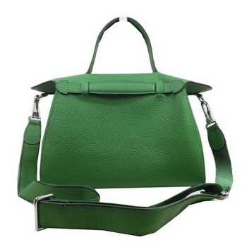 Hermes Oxer Top Handle Messenger Bag H8096 Green