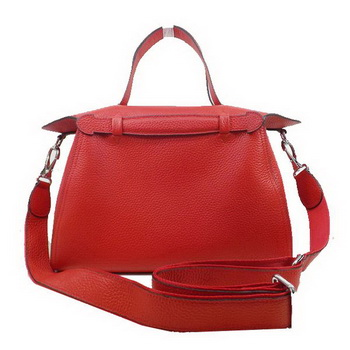 Hermes Oxer Top Handle Messenger Bag H8096 Red