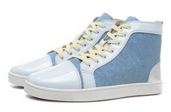 Christian Louboutin Casual Shoes Jean Jacket CL858 SkyBlue