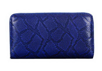 Dior Snake Leather Zippy Wallet CD1923 Royal