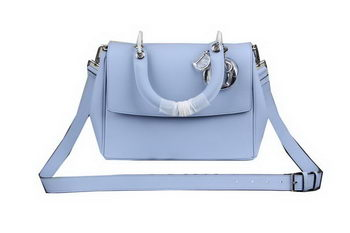 Dior Be Dior Flap Bag Nappa Leather CD99018S SkyBlue