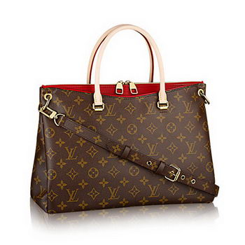 Louis Vuitton M41175 Monogram Canvas Pallas Cerise Bag