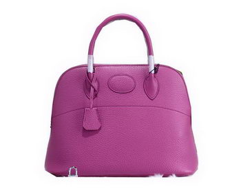Hermes Bolide 31CM Calfskin Leather Tote Bag H509083 Lavender