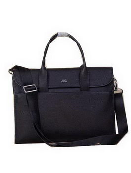 Hermes Briefcase Original Calf Leather H1709 Black