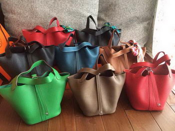 Hermes Picotin Lock 22cm Bags in Clemence Leather