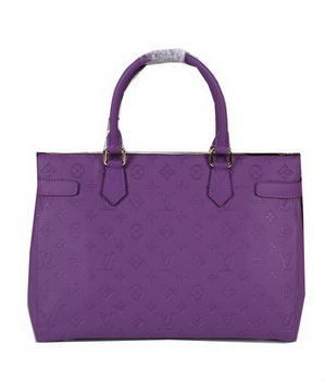 Louis Vuitton Monogram Empreinte Tote Bag M48816 Lavender