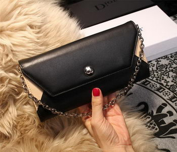 Dior ADDICT RENDEZ-VOUS Wallet M4018 Black&OffWhite