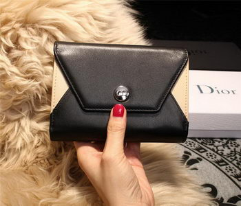 Dior ADDICT RENDEZ-VOUS Wallet M4016 Black&OffWhite