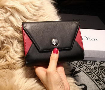 Dior ADDICT RENDEZ-VOUS Wallet M4016 Black&Red