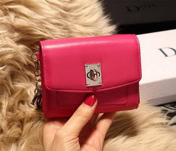 Dior Twist Rendez-Vous Wallet Smooth Calfskin M3160 Rose