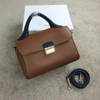 Celine Small Top Handle Bag Original Leather C20135S Wheat