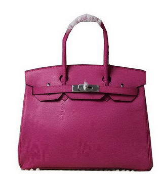 Hermes Birkin 35CM 30CM Tote Bag Lizard Leather H35H30 Rose