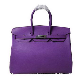 Hermes Birkin 35CM 30CM Tote Bag Lizard Leather H35H30 Violet