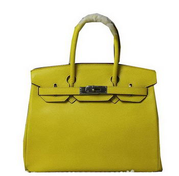 Hermes Birkin 35CM 30CM Tote Bag Lizard Leather H35H30 Yellow