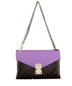 Louis Vuitton Monogram Canvas Pallas Chain Aurore M41200 Lavender