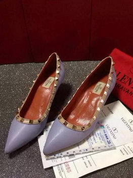 Valentino Sheepskin Leather 65MM Pump VT381JX Lavender