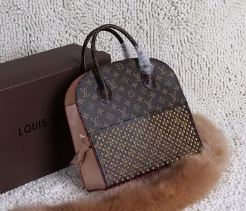 Louis Vuitton Shopping Bag Christian Louboutin M40158 Burgundy