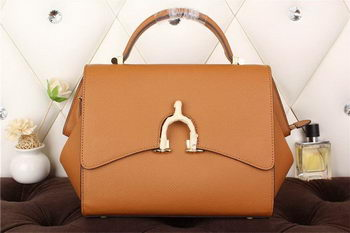 Hermes Stirrup Top Handle Bag H30560 Wheat