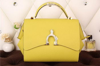 Hermes Stirrup Top Handle Bag H30560 Yellow