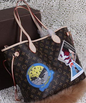 Louis Vuitton Monogram Canvas Cindy Sherman Neverfull MM Bag M40995