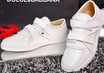 Dolce & Gabbana Casual Shoes D&G44 White