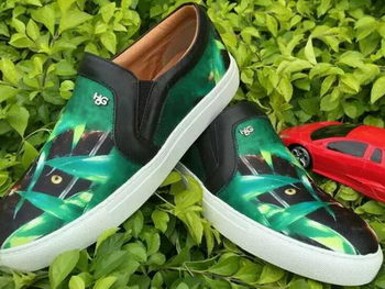 Givenchy Men Casual Shoes GI30 Green