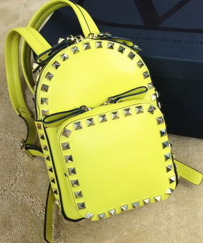 Valentino ROCKSTUD Small BACKPACK VG19611 Yellow