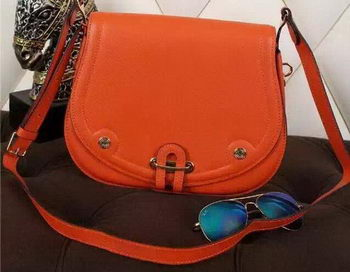 Hermes Passe-Guide Bag Calfskin Leather H22039 Orange