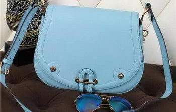 Hermes Passe-Guide Bag Calfskin Leather H22039 SkyBlue