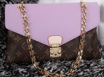 Louis Vuitton Monogram Canvas Pallas Chain Aurore Bag M41200 Lavender