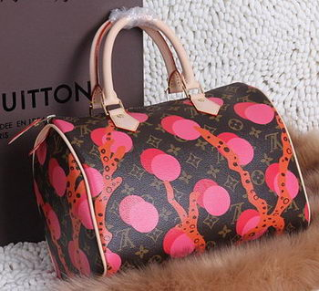 Louis Vuitton Monogram Canvas SPEEDY 30 RAMAGES M41527 Rose