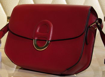 Hermes Cherche Midi Bag Calfskin Leather H1518 Burgundy