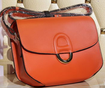 Hermes Cherche Midi Bag Calfskin Leather H1518 Orange