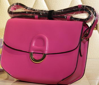 Hermes Cherche Midi Bag Calfskin Leather H1518 Rose