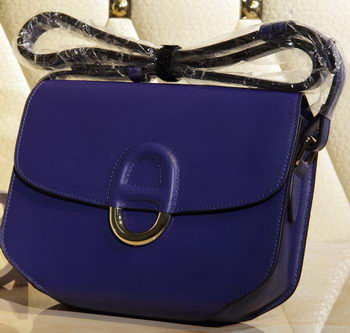 Hermes Cherche Midi Bag Calfskin Leather H1518 Royal