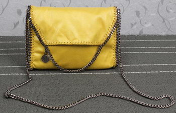 Stella McCartney Falabella PVC Cross Body Bags SM875 Yellow