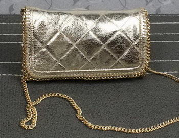 Stella McCartney Falabella PVC Cross Body Bags SM882 Gold