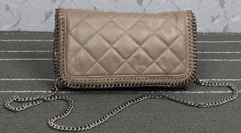 Stella McCartney Falabella PVC Cross Body Bags SM882 Khaki