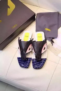 Fendi Thong Sandal FD67XL Black