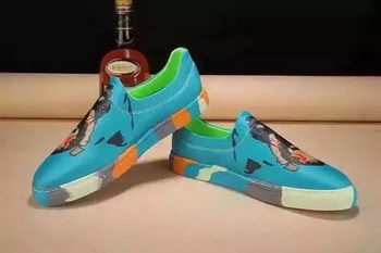 Givenchy Casual Shoes Leather GI33HT Blue