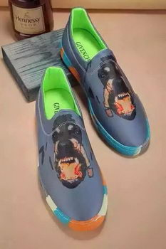 Givenchy Casual Shoes Leather GI33HT Grey
