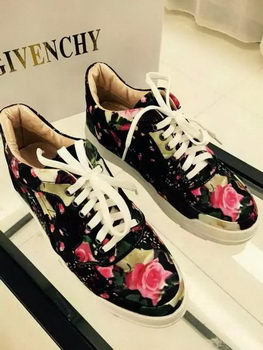 Givenchy Casual Shoes Leather GI38HT Black