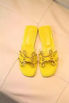 Hermes Slipper PVC HO0503 Yellow